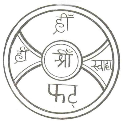 Yantra for cure fever